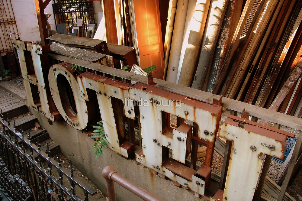 hotel salvage by linda lowry