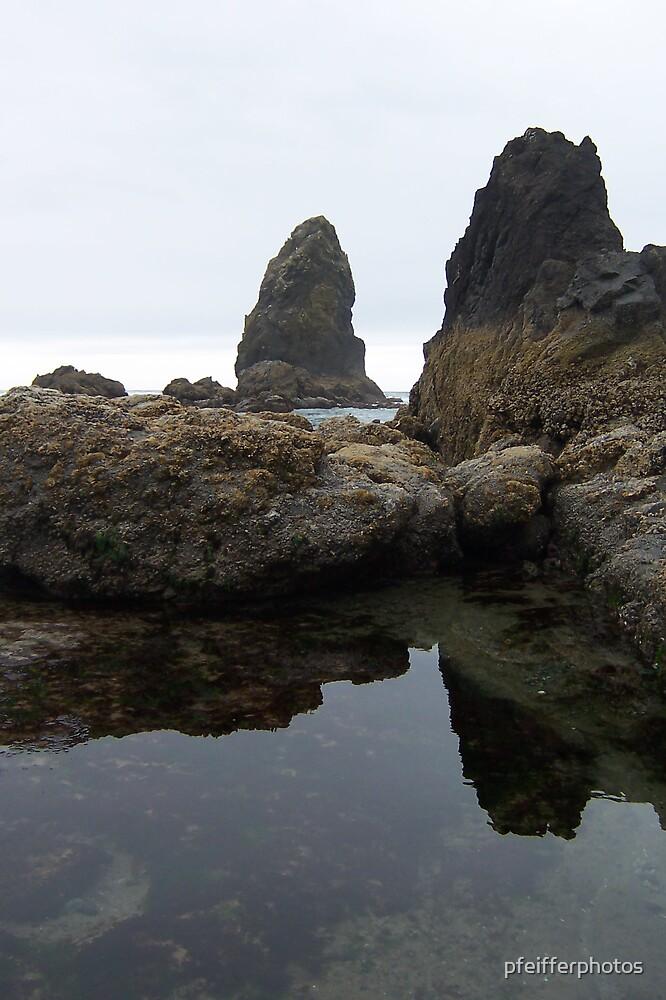 Haystack Rocks (Color) by pfeifferphotos