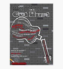 The Gaslight Anthem Get Hurt Tour Poster  Photographic Print