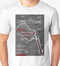 The Gaslight Anthem Get Hurt Tour Poster  Unisex T-Shirt
