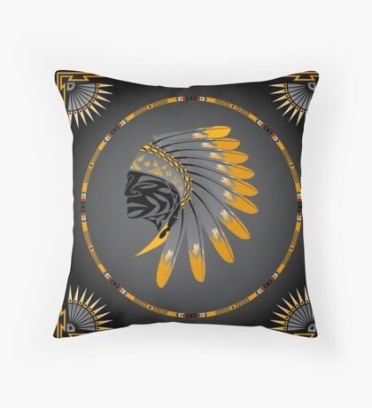 Honor and Strength Throw Pillow