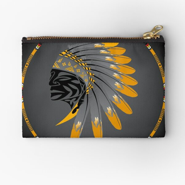 Honor and Strength Zipper Pouch