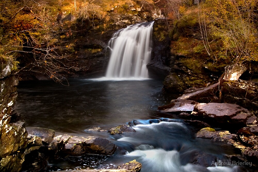 Falloch Falls by Andrew Brierley