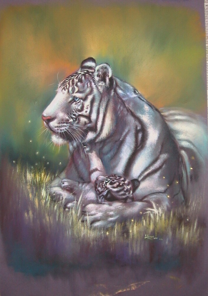 White Tiger by Koyomi Waki