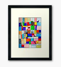SURREAL ABSTRACT  Framed Print