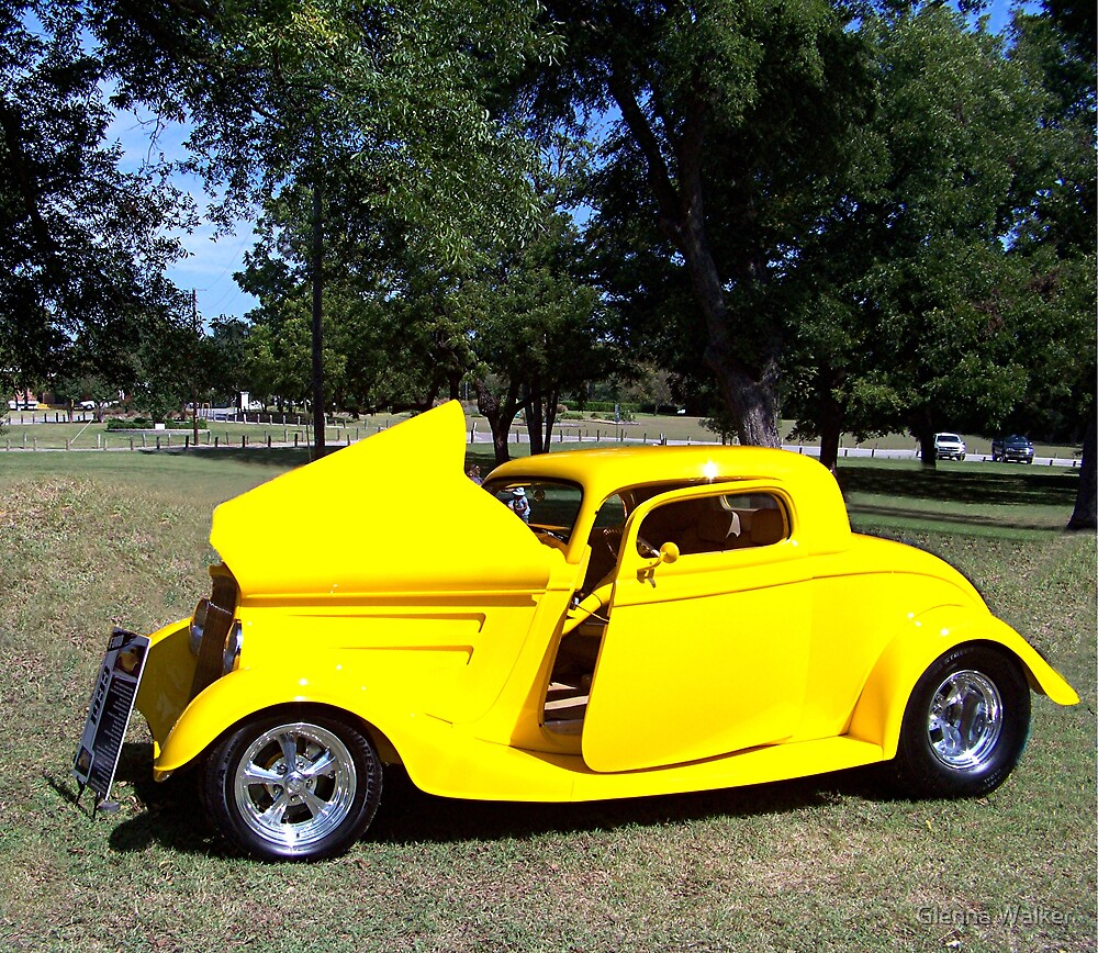 1933 Ford Coupe by Glenna Walker