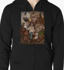 Labyrinth Zipped Hoodie