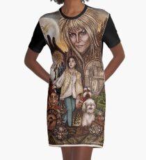 Vestido camiseta Labyrinth