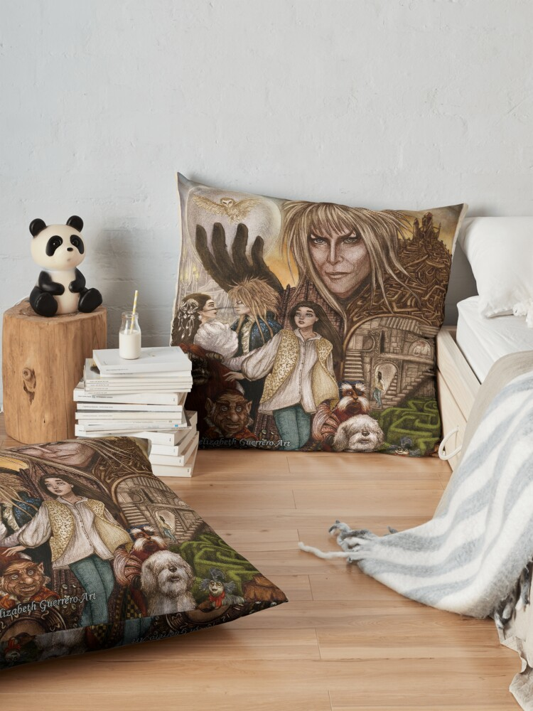 Alternate view of Labyrinth Floor Pillow