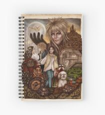 Labyrinth Spiral Notebook