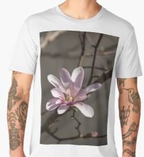 Sunny Pink Magnolia Blossom Men's Premium T-Shirt