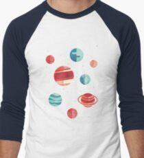 Freude an das Universum (Teal Version) Baseballshirt für Männer