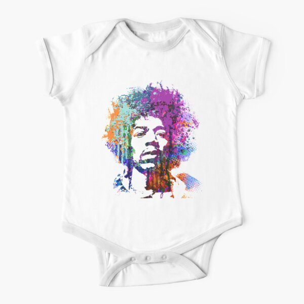 GUITAR GOD #5 Short Sleeve Baby One-Piece