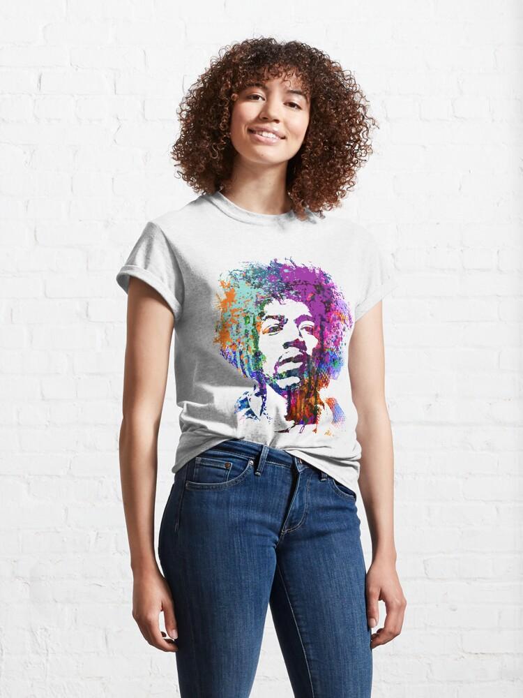 Vista alternativa de Camiseta clásica GUITARRA DIOS # 5