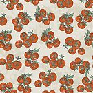 Mediterranean Tomato Pattern by yaansoon