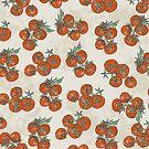 Mediterranean Tomato Pattern by yaansoon