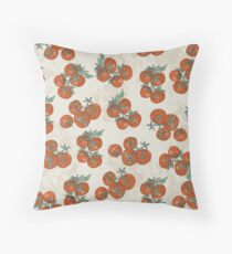 Mediterranean Tomato Pattern Floor Pillow
