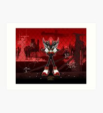 Shadow in the City Art Print