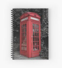 Telephone Engaged Spiral Notebook