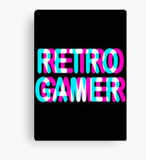 GAMING - RETRO GAMER - TRIPPY 3D GAMING Canvas Print