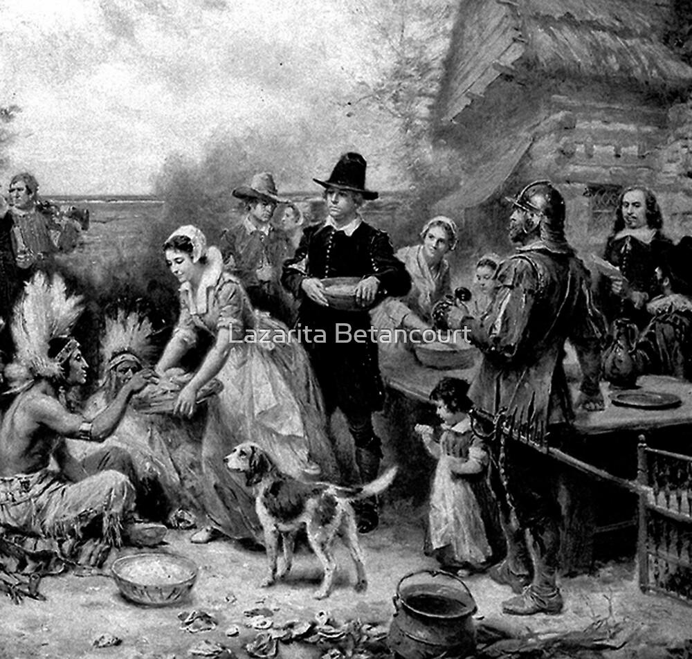 The first Thanksgiving by Lazarita Betancourt