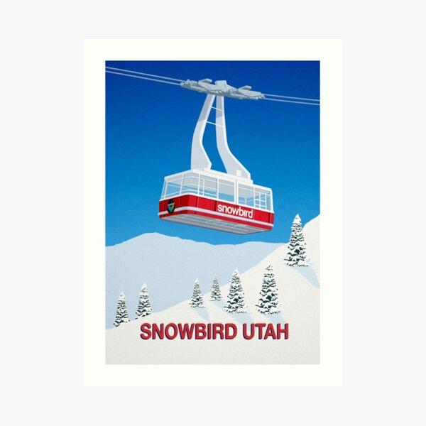 Snowbird Ski Resort Art Print