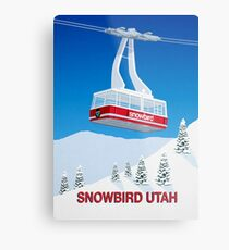 Snowbird Ski Resort Metal Print