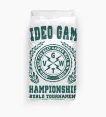 GAMING - VIDEO GAME CHAMPIONSHIPS - GAMER Duvet Cover
