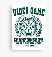 GAMING - VIDEO GAME CHAMPIONSHIPS - GAMER Canvas Print