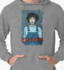 Eleven from Stranger Things Lightweight Hoodie