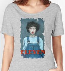 Eleven from Stranger Things Women's Relaxed Fit T-Shirt