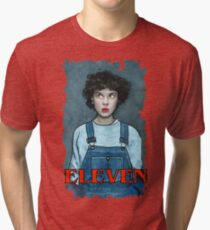 Eleven from Stranger Things Tri-blend T-Shirt