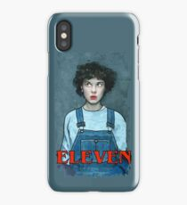 Eleven from Stranger Things iPhone Case/Skin