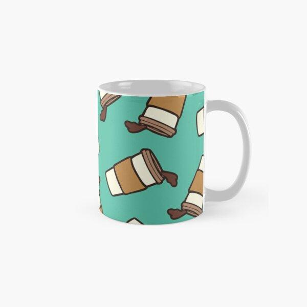 Take it Away Coffee Pattern Classic Mug
