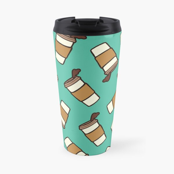 Take it Away Coffee Pattern Travel Mug