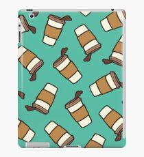 Take it Away Coffee Pattern iPad Case/Skin