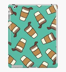 Take it Away Coffee Pattern iPad Case/Skin
