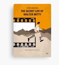 No806 Mein Das geheime Leben von Walter Mitty minimales Filmplakat Leinwanddruck