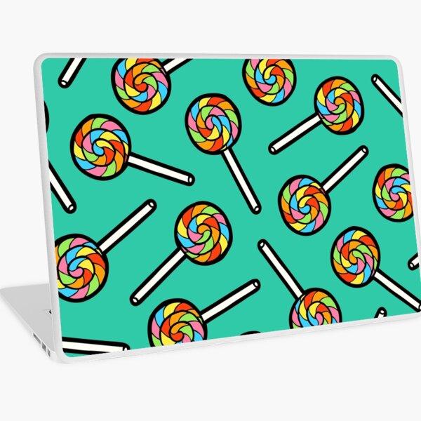Rainbow Lollipop Pattern Laptop Skin