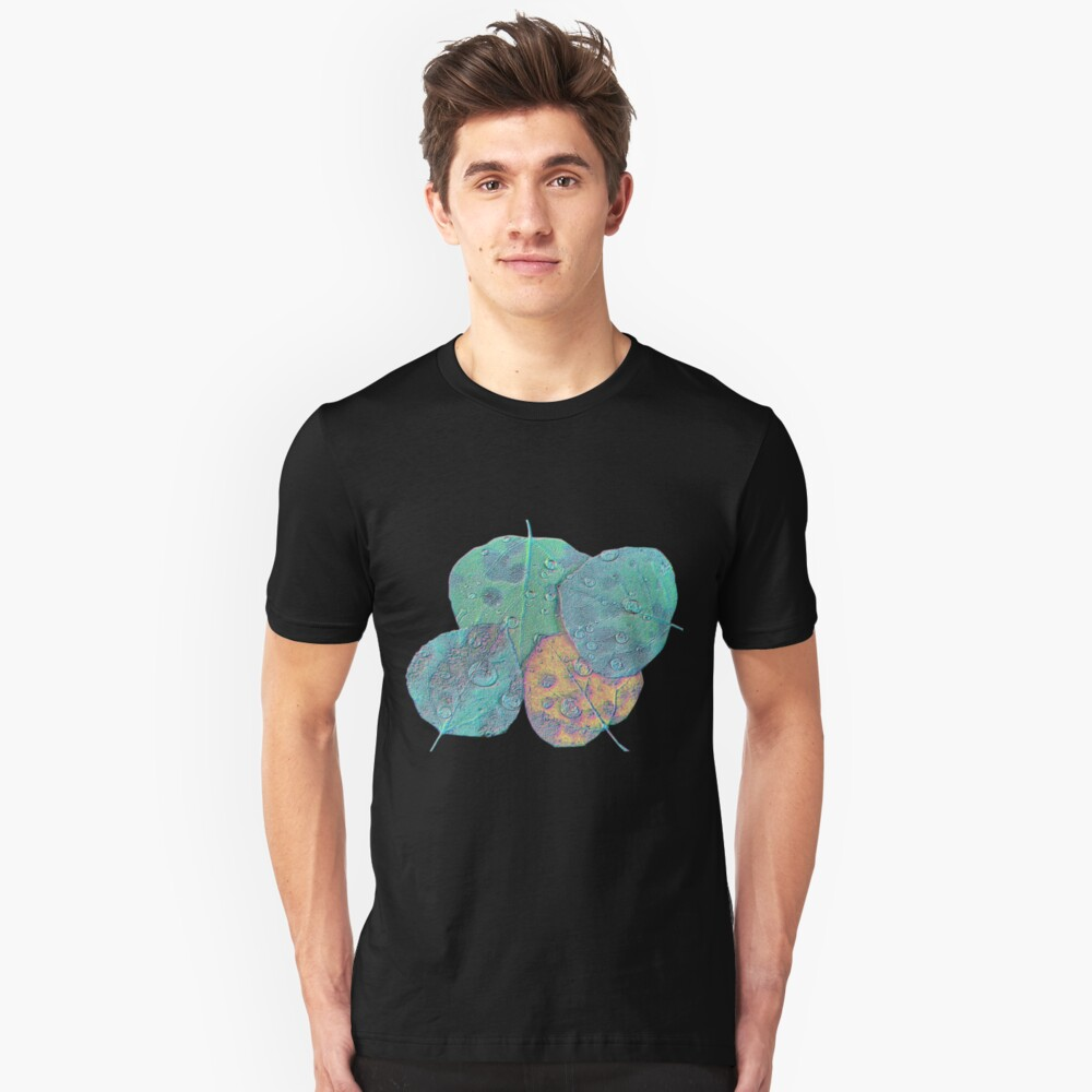 Psychedelic Fall Unisex T-Shirt Front
