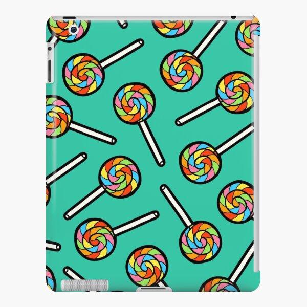 Rainbow Lollipop Pattern iPad Snap Case