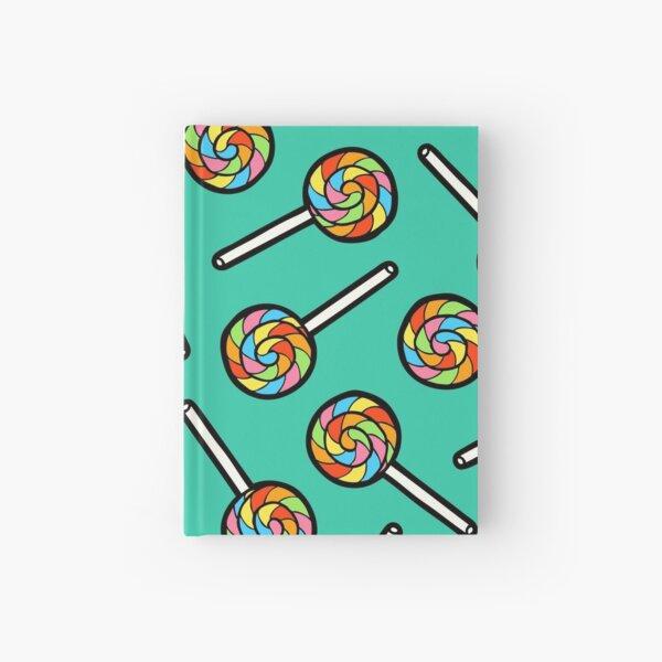 Rainbow Lollipop Pattern Hardcover Journal