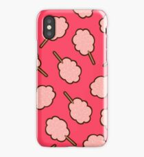 Cotton Candy Pattern iPhone Case