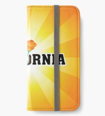 California the Golden State iPhone Wallet/Case/Skin