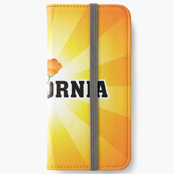 California the Golden State iPhone Wallet