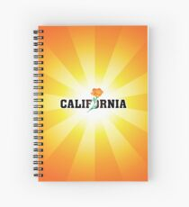 California the Golden State Spiral Notebook