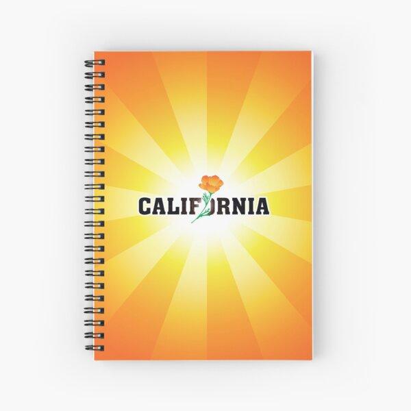 California the Golden State Spiral Notebook