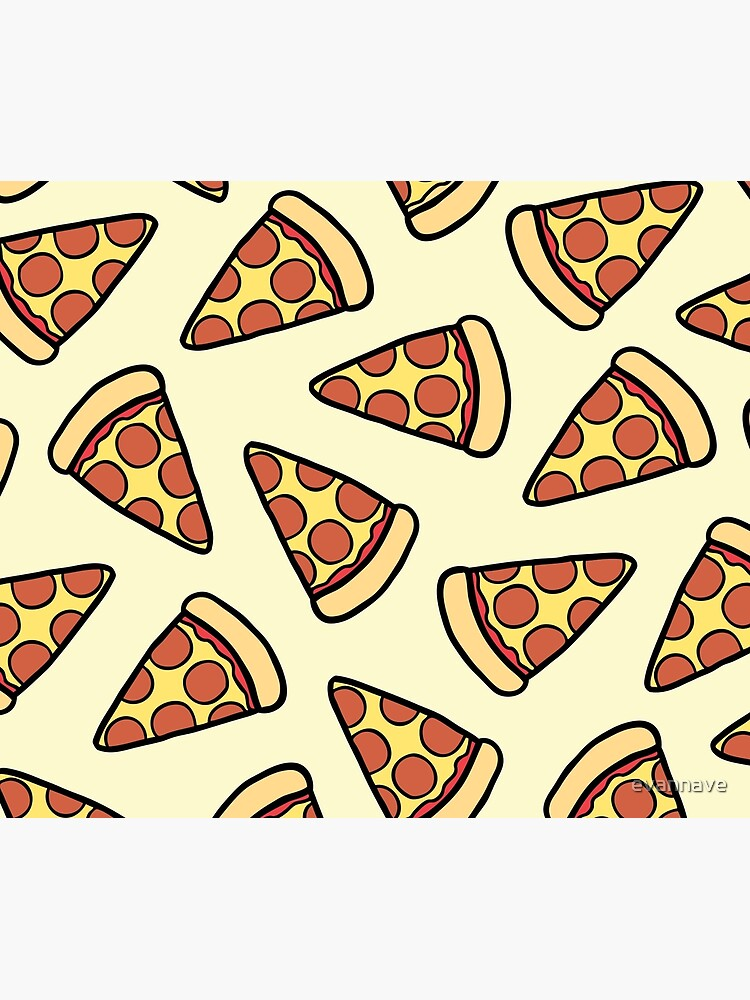Pepperoni Pizza Pattern by evannave