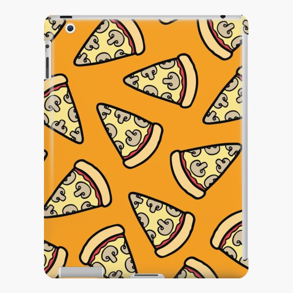 Mushroom Pizza Pattern iPad Snap Case