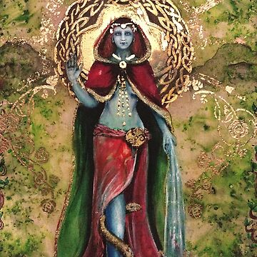 Danu Great Celtic Mother Goddess  by tillyworld